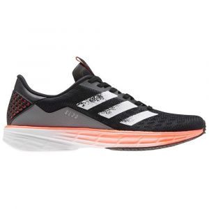 Adidas Sl20 Chaussures Femme, core black/footwear white/signal coral UK 5 | EU 38 Chaussures running sur route