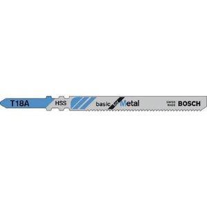 Bosch 2608631002 - Lame de scie sauteuse double attache basic pour métal