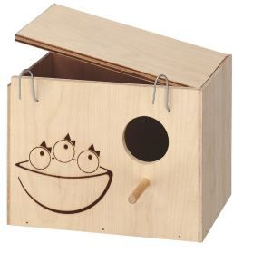 Ferplast Nid en bois pour oiseaux L