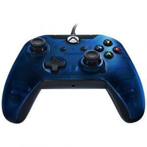 PDP Manette Xbox One et PC filaire - Bleu nuit