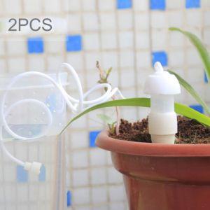 2 PCS Gardening Arrosage Automatique Goutte à Irrigation Set Fleurs en Pot Dispositif d'arrosage