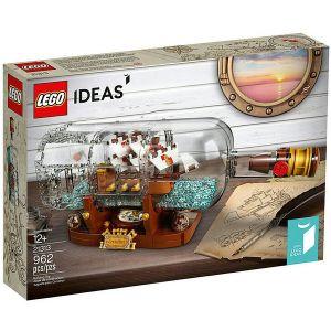 Lego 21313 - Ideas : Bâteau en bouteille