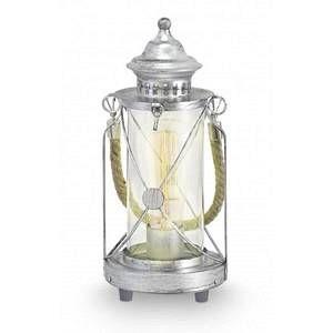 Eglo Lanterne à poser Mineur 3 - Vintage - Argent antique