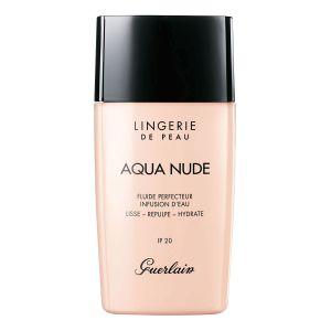 Guerlain Lingerie de Peau Aqua Nude 03W Naturel Doré - Fluide perfecteur infusion d'eau IP 20