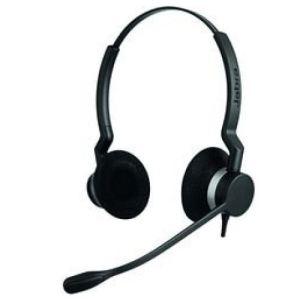 Jabra Biz 2300 Duo - Casque téléphonique avec microphone