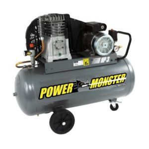 Mecafer 425193 - Compresseur Power Monster 100L 3HP 10 bars