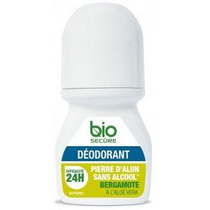 Bio Secure Bergamote - Déodorant à la pierre d'alun