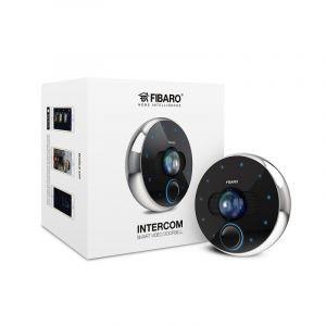 Fibaro Portier vidéo connecté Intercom - WiFi/Bluetooth - Noir