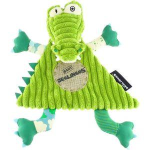Les Déglingos Doudou Baby Aligatos L'Alligator (28 cm)