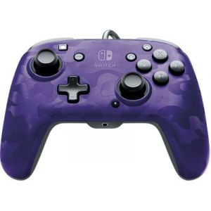 PDP Manette Filaire Switch Camo Violette