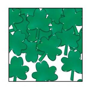 Confettis trèfles St Patrick 28 grammes