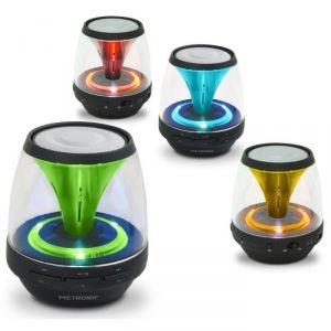 Metronic 477072 - Enceinte lumineuse Bluetooth Spark
