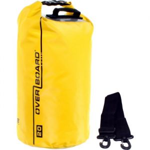 Overboard GTB1005 Dry Tube Sac étanche Jaune 20 L