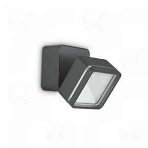 Ideal lux Spot extérieur led Omega Gris anthracite Aluminium 172514