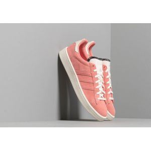 Adidas Campus W, Chaussures de Gymnastique Femme, Rouge Off White/Active Red, 40 EU