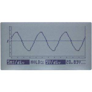 Velleman Kit d'oscilloscope éducatif avec afficheur LCD