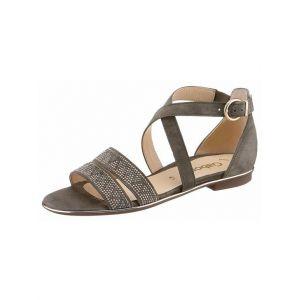 Gabor Shoes Fashion, Sandales Bride Cheville Femme, Vert (Oliv), 35 EU