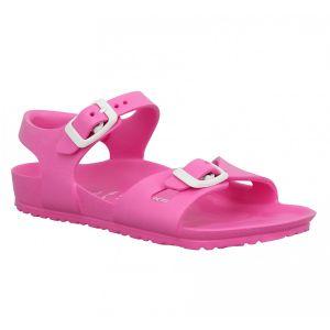 Birkenstock Rio, Sandales Bride Arriere Mixte Enfant, Rose (Rose Neon Pink) 31 EU