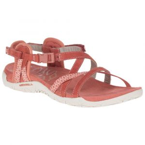 Merrell Women´s Terran Lattice II - Sandales de marche taille 37, rouge/rose