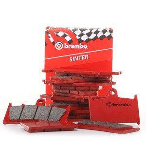 Brembo 07BB03SA - Plaquettes de frein moto métal fritté