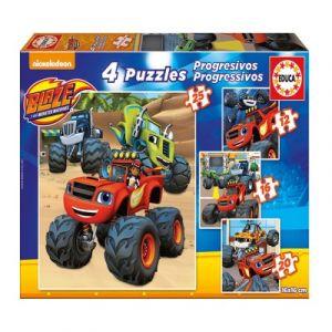 Educa Blaze - Puzzle progressif 12 à 25 pièces