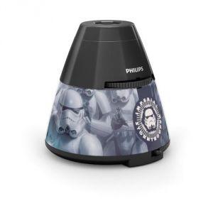 Philips 71769/99/16 - Veilleus projecteur mural Star Wars
