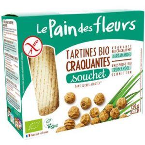 Le pain des fleurs Tartines craquantes au Souchet 150g