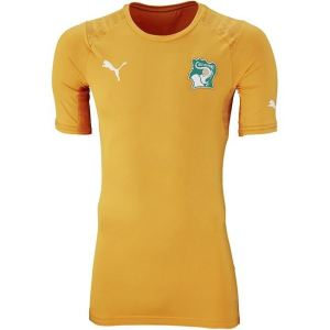 Puma Maillot de foot à domicile Côte d'Ivoire Coupe du Monde 2014 homme