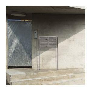 Jago Boîte aux lettres collective 6 portes - Comparer avec ... abec417d4f9e