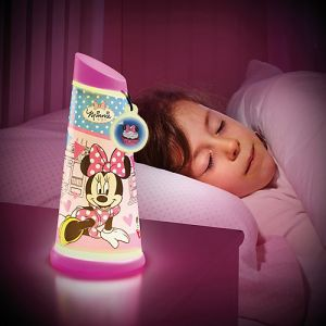 Worlds Apart Veilleuse Go Glow Minnie Mouse