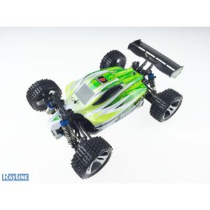 RayLine Voiture RC Buggy Fun Driver 1:18 2,4GHz 70km/h