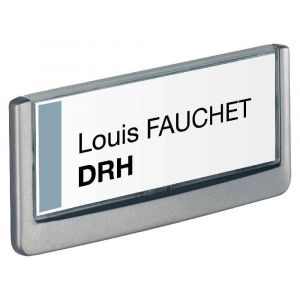 Image de Durable Plaque de porte Click Sign format titre 149 x 52,5 mm coloris graphite