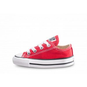 Converse Chaussures casual / Chuck Taylor All Star Basses Toile Rouge - Taille 21