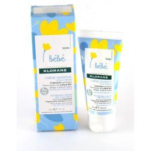 Klorane Bébé Crème nutritive au cold cream - 40 ml