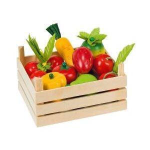 Goki 51658 - Fruits et légumes dans une cagette
