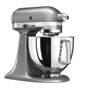 Kitchen Aid 5KSM125E - Robot à tête inclinable Artisan 4,8 L
