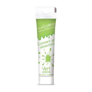 Scrapcooking Colorant gel vert clair 20g
