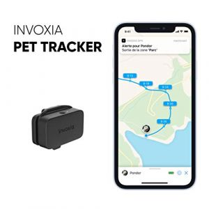 Invoxia GPS PetTracker LWT2 - Traceur GPS pour chats et chiens