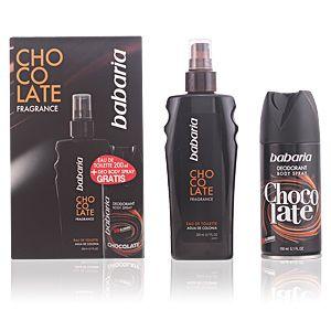 Babaria Chocolate - Coffret eau de toilette et déodorant spray