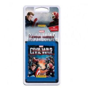 Panini Captain America Civil War - Blister 40 cartes à collectionner