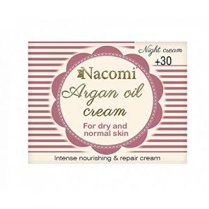 Nacomi Argan Oil Cream - Night cream 30+