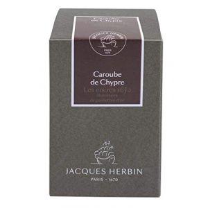 Herbin 15045JT - Flacon d'encre 1670, 50ml, couleur caroube de Chypre