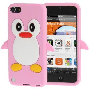 TechExpert Coque en silicone cartoon Pingouin pour iPod Touch 5