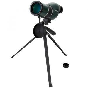 Whipearl OP5020 Télescope - Spirit 12 - 36x50S - Grossissement x12 x36 - Trépied réglable fourni - Revêtement caoutchouc blindé