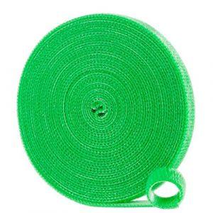 Ribimex Ribiland Lien Rapide par Scratch 10mmx5m, Vert