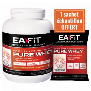 EA Fit Croissance musculaire Maxi Pure Whey chocolat 750 g