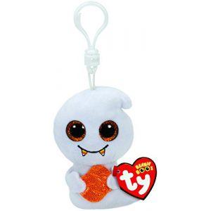Ty Porte-clés peluche Scream le Fantôme Beanie Boos 8,5 cm