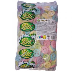 Lutti Gaine Smiley Fizz 2 kg