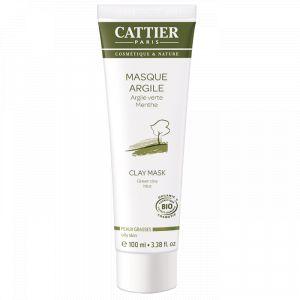Cattier Masque Argile pour peaux grasses