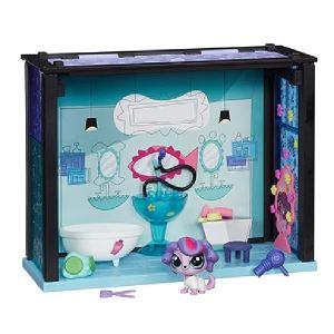 Hasbro Coffret Salle de bain + 1 Petshop